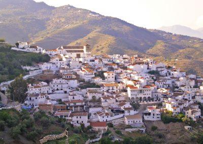 Ciudades creativas Cútar Málaga