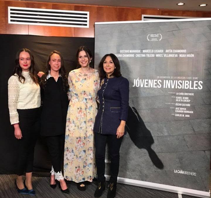 Estreno del documental 'Jóvenes invisibles'