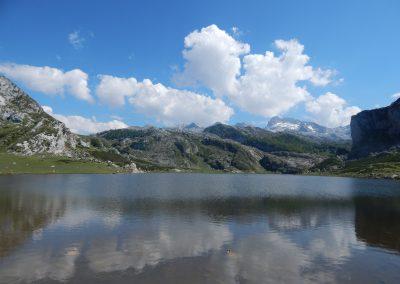 Lago Ercina, Covadonga, Asturias.