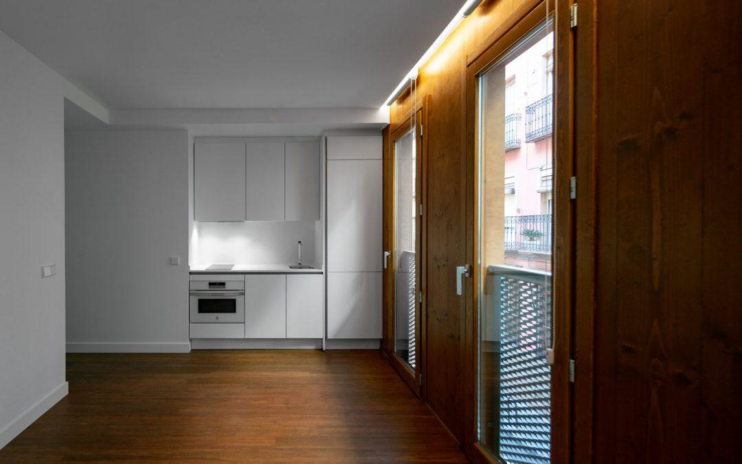 La casa ecológica, de madera, en el centro de Madrid