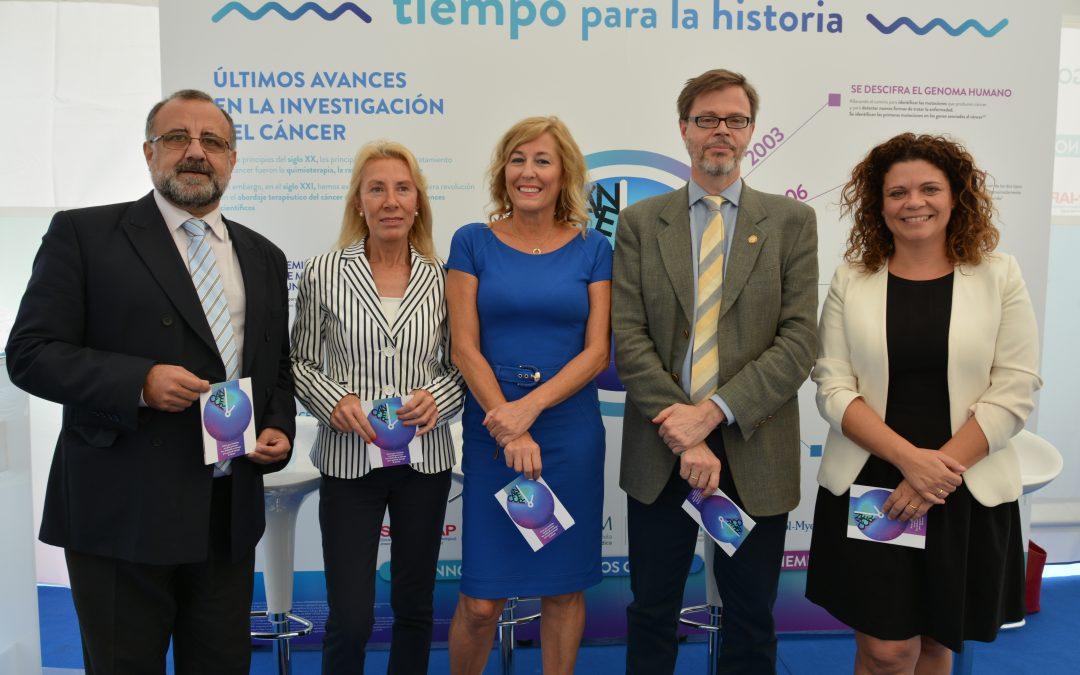La campaña 'Diálogos de Salud y Cáncer' llega a Sevilla para informar a la población sobre cáncer y sus últimos avances en investigación
