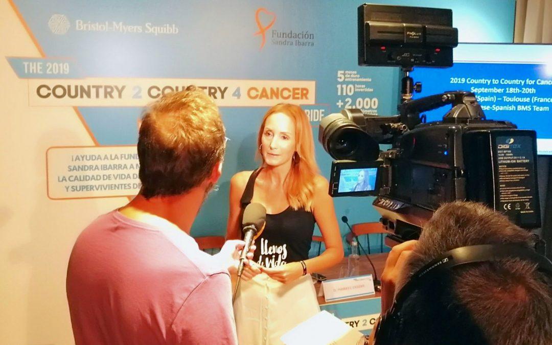 Empleados de BMS apoyan a través del ciclismo a Fundación Sandra Ibarra para visibilizar las necesidades de los supervivientes de cáncer