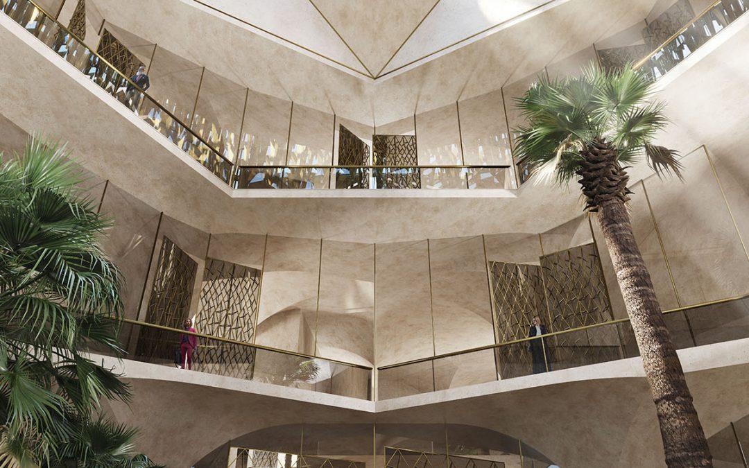 El Gobierno de Dubai, mecenas del estudio de arquitectura que ha diseñado el museo de la Barjeel Art Foundation
