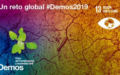 Foro Demos: qué compromisos ha de asumir y qué retos afronta el Sector Fundacional en la lucha contra el cambio climático