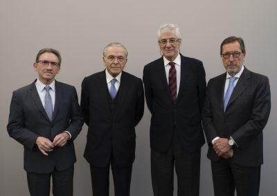 Foto Fundación Bancaria la Caixa Giró - Faine - Lopez Burniol - Vila (1)