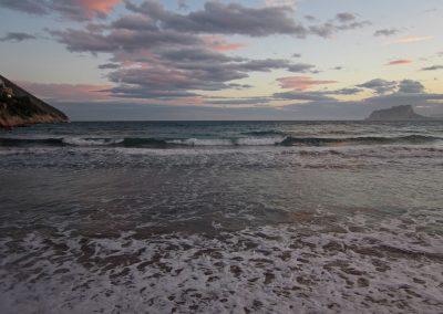 mar sea sunset