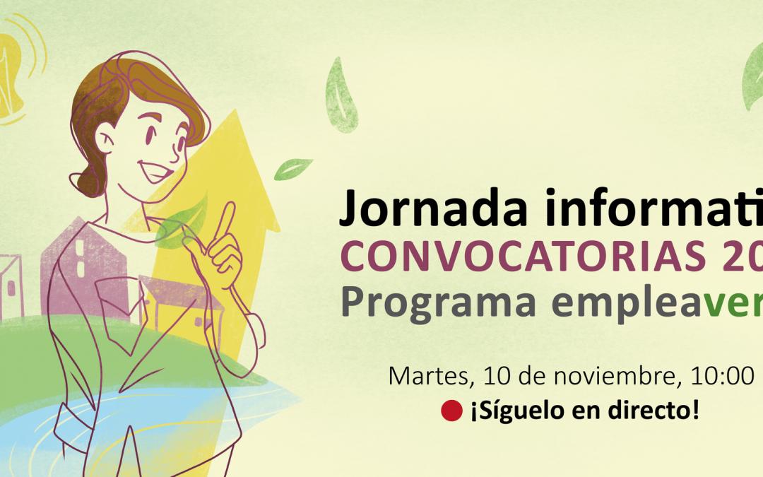 Presentación de las ayudas de Fundación Biodiversidad para impulsar el empleo en la recuperación verde