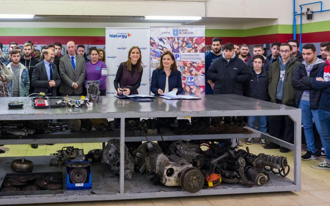 Fundación Naturgy prepara a 5.100 alumnos de FP en estudios relacionados con la energía para facilitar su acceso al mercado laboral
