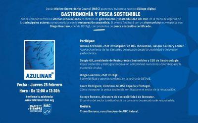 Gastronomía y Pesca Sostenible, las últimas innovaciones en gastronomía y sostenibilidad del mar